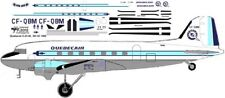 Quebecair Douglas DC-3 C-47 airliner decals for Minicraft 1/144 kits