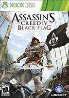 Assassin's Creed IV: Black Flag -- (Microsoft Xbox 360, 2013)