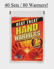 40 Sets Grabber Heat Treat 7hr HAND WARMER Gloves Boots Pocket Instant Heat HWES