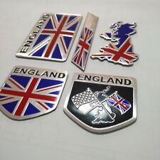 Metal Emblems Badge Decal Car Front Side Bumper Logo Sticker United Kingdom Flag