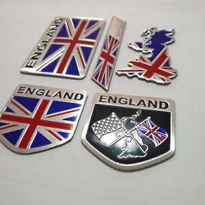 Metal Emblems Badge Decal Car Front Side Bumper Logo Sticker United Kingdom Flag