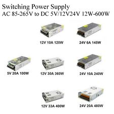 5V 12V 24V DC AC 1A/10A/30A/50A/70A Switching Power Supply Adapter For LED Strip