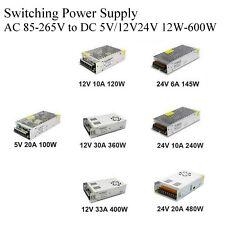 5 В 12 В 24 В детектив комиксы переменного тока 1A/10A/30A/50A/70A переключение питания адаптер для светодиодная лента