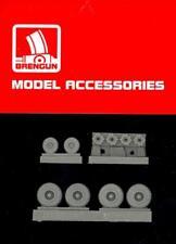 Brengun Models 1/144 C-130 HERCULES WHEEL SET WITH DISC BRAKES Resin Update Set