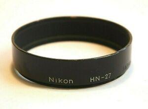Nikon HN 27 Hood for Nikon 500mm f8 lens
