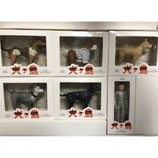 New Isle of Dogs Movie Figure 6pcs Complete Set Wes Anderson limited Japan