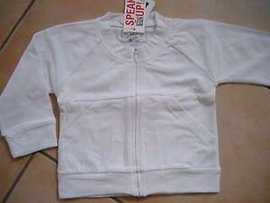(X182) Süße Imps & Elfs unisex Baby Sweatjacke mit Taschen & Logo Druck gr.62