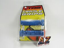 Tag ATV Handlebar Grips Blue Yamaha Raptor 125 250 350 660 700 700R Grizzly
