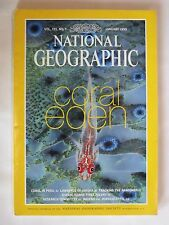 """National Geographic Magazine ... January1999 ... """"Coral Eden"""""""