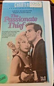 THE PASSIONATE THIEF (1960) VHS ANNA MAGNANI,BEN GAZZARA