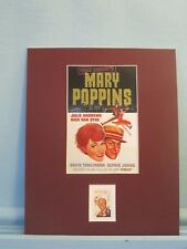 "Julie Andrews * Dick Van Dyke in ""Mary Poppins"" & the Walt Disney stamp"