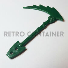 Vintage Toys Parts - TYCO DOUBLE DRAGON - Shadow Master - Axe Weapon Accessory
