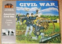 IMEX # 770 Civil War Union 6 LB Cannon Set 1:32 One Cannon, Three 54mm Figures