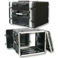 "NEW PA DJ 8RU Equipment Rack Mount Flight Storage Case.Concert.19"" Stage.8."