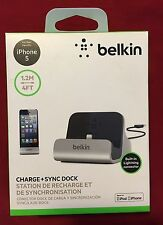 Authentic Belkin Charge + Sync Dock for iPhone 5 / 5s / SE -  Retail $40