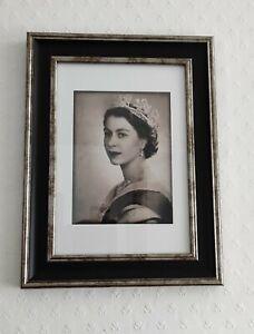 Framed Portrait Of her Majesty Queen Elizabeth II