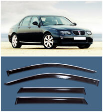 Chrome Trim Side Window Visors Guard Vent Deflectors For Rover 75 Sd 1999-2005