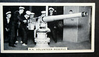 Royal Naval Volunteer Reserve 12 Pounder Gun    Vintage  Photo Card   VGC
