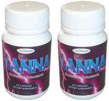 KANNA 60 Capsules 500mg Extract Support Improve Mood Anti Stress Depression Help