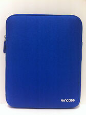 Incase Neoprene Soft Sleeve Zipper Pouch Case for iPad Air/4/3/2 Cobalt Blue