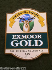 BEER PUMP CLIP - GOLDEN HILL EXMOOR GOLD