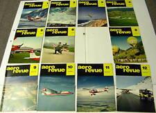 1964 AERO REVUE MAGAZINE  SET 0F 11