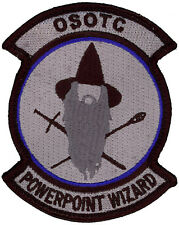 USAF POWERPOINT WIZARD PATCH - BLUE