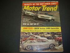 Motor Trend Magazine June 1960 Buick Invicta Lark Corvette Show Stoppers M2502