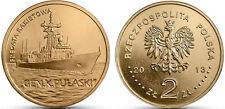 "Poland 2013 2 zlotych ""Polish Ships – Pulaski Guided-missile Frigate"" UNC"