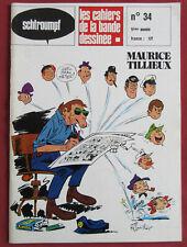 SCHTROUMPF  LES CAHIERS DE LA BD  N° 34  TILLIEUX