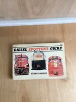 Diesel Spotters Guide By Jerry Pinkepank First Printing 1967 Book Pre-Owned