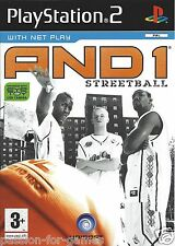 AND 1 STREETBALL for Playstation 2 PS2 - with box & manual - PAL