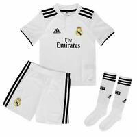 ADIDAS REAL H MINI CONJUNTO OFICIAL REAL MADRID NIÑO 2018/19 CG0538 HOME KIT