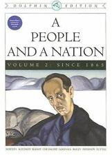 A People and a Nation: A History of the United States, Dolphin Edition-ExLibrary