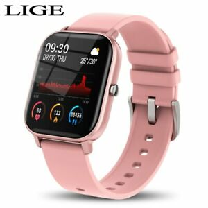 New Sporty and Elegant 1.4inch Digital Touch Watch Waterproof For Xiaomi iPhone