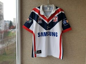 Sydney Roosters Alternative/Away Rugby Shirt 2005/2006 Jersey ISC NRL Samsung