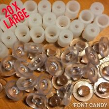 20x Large Locators Letter Fixings For Sign Makers Snapfix Locators