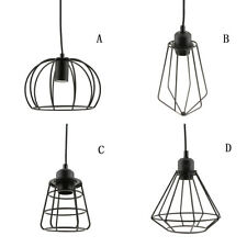 Iron Black Lamp Shade Chandelier Shade Ceiling Light Cage Pendant Lights Fixture