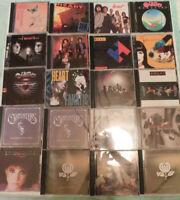 CD's-Heart,Carpenters,Fleetwood Mac,Miami Sound Machine,+