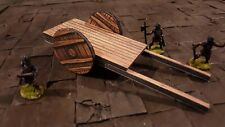 Wooden Cart, Dungeons and Dragons terrain scenery Digital Download wargame dnd