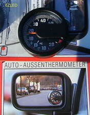 Car Ice Alert Side Mirror Thermometer dia 4cm Brand New