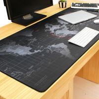 Anti-slip Large Gaming Mouse pad Keyboard Mat Laptop Computer PC Mice Mat