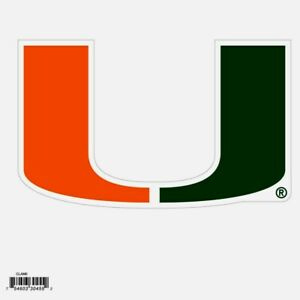 Miami Hurricanes Outdoor Rated Magnet Auto Refrigerator NCAA Licensed