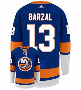 Mathew Barzal New York Islanders Adidas Authentic Home NHL Hockey Jersey