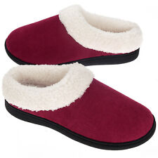 VONMAY Women's Cozy Memory Foam Slippers Wool-Like Plush Comfort House Shoes