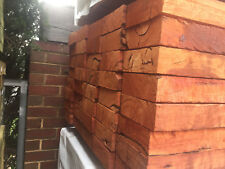 Redgum Sleepers 200x50 3.0m Lengths Retaining Wall Garden Bed Boxing Sand Pits