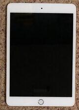Apple iPad mini 3 128GB, Wi-Fi + Cellular (Unlocked) 7.9in Gold (w/Smart Cover)