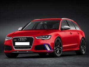 New Genuine Audi RS6 13-16 Front Left Aluminium-Matte Grille Cover 4G0807795AP6