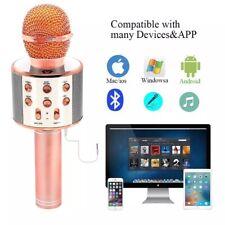 Ws-858 Wireless Bluetooth Microphone Karaoke Handheld Stereo Mic Usb Speaker Us