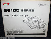 NEW !  Genuine OKI B6100 Printer Black High Yield 15K Yield Toner 52113701